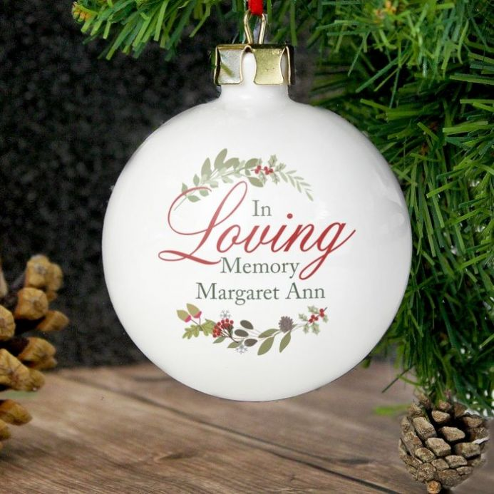 In Loving Memory Wreath Bauble
